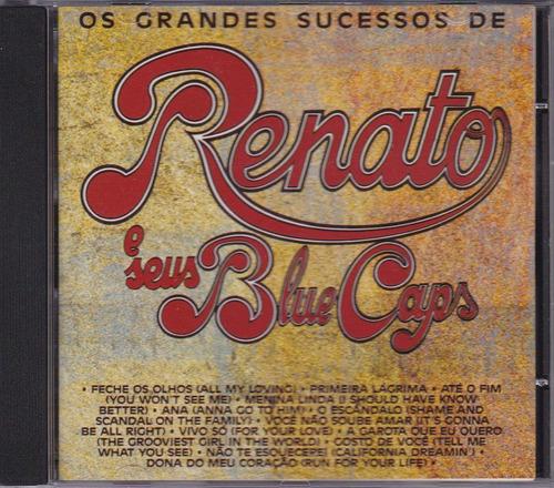 renato e seus blue caps - cd os grandes sucessos - seminovo