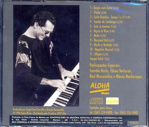 renato vasconcellos suite brasilia cd lacrado instrumental