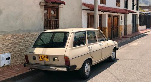 renault 12 break  modelo 1979.     100% original..