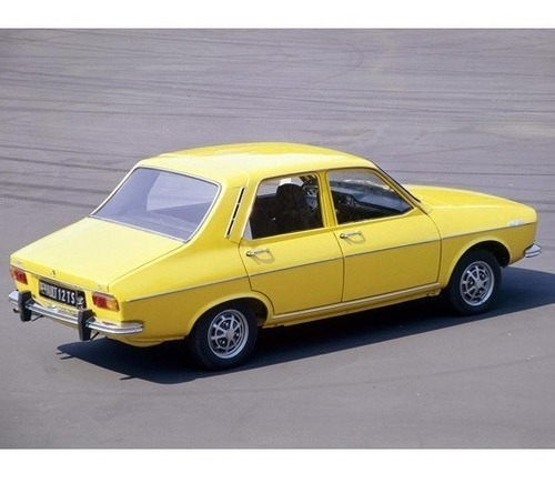 renault 12  - equipo completo -