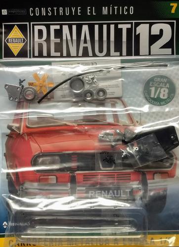 renault 12 para armar - eaglemoss - numero 7