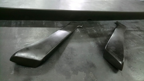renault 18 1988 aleron con  2 bajadas negros adhesivos