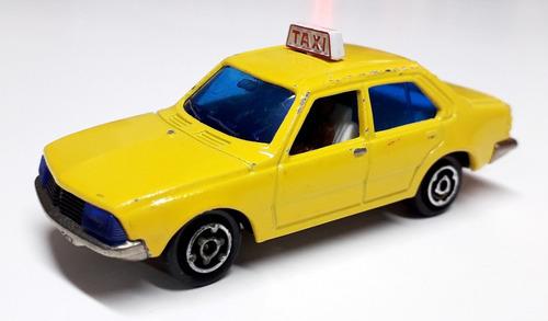 renault 18 taxi - majorette (france) escala 1/60