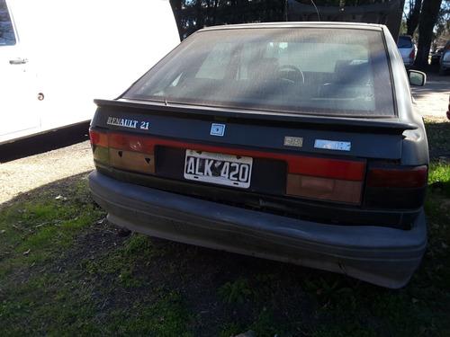 renault 21 alize 1995 nafta, dueño desde 0km! para arreglar