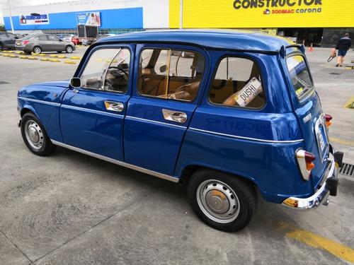 renault 4 r4 de colección año 1973