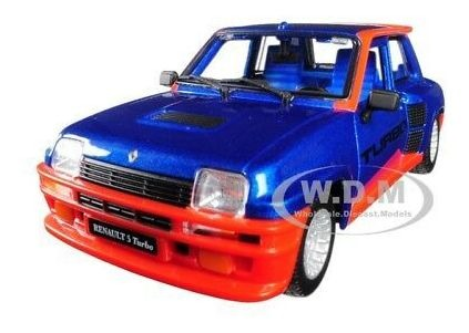 rojo metalizado Renault 5 Turbo