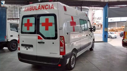 renault  ambulancia uti l2h2 simples remoçao