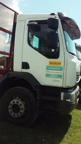 renault c320 6x4 r dxi año2014 - caja forestal hermann 2014