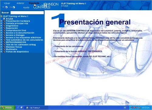 renault can clip curso manual capacitacion autoformacion