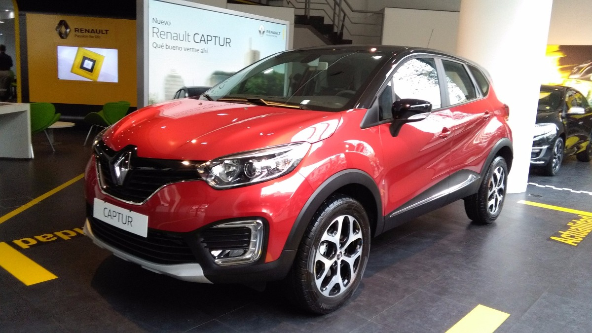 Renault Captur 1 6 Intens Cvt Tasa 19 9 Fija Ml