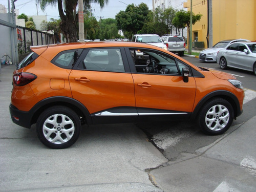renault captur 2.0 intens mt 2018 naranja