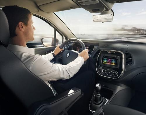 renault captur intens 2.0 2018 0km gris plata contado autos