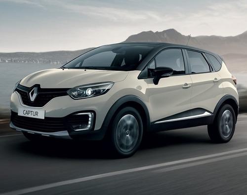 renault captur life 2018 0km gris contado financiado autos