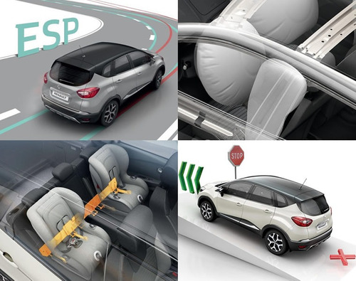 renault captur zen 2018 0km gris contado financiado autos