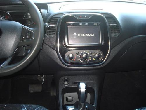 renault captur zen automático motor 1.6 2018 vermelho