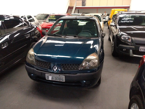 renault clio 1.0 16v authentique hi-flex 3p 2006 ac auto