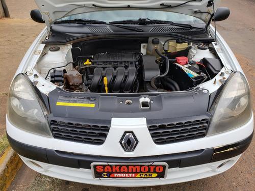 renault clio 1.0 authentique sedan 16v gasolina 4p manual