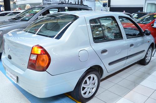 renault clio 1.0 rt sedan 16v gasolina 4p manual - 2003