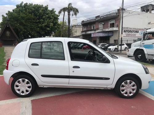 renault clio 1.2 authentique pack ii 75cv 2012