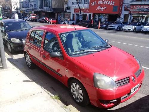 renault clio 1.2 f2 authentique 5 puertas  año 2004