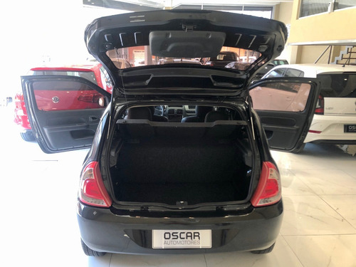 renault clio 1.2 mío expression pack i año 2013 negro