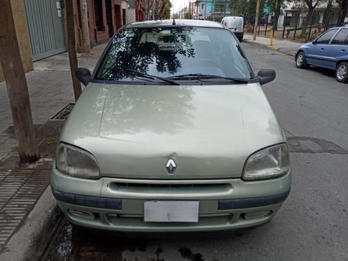 renault clio 1999 3 puertas base c gnc dueña liquida urgente