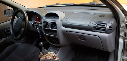 renault clio 2001 hatch 1.6 si 16v 4p gas. manual - completo