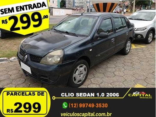 renault clio authentique sedan 1.0 16v 4p