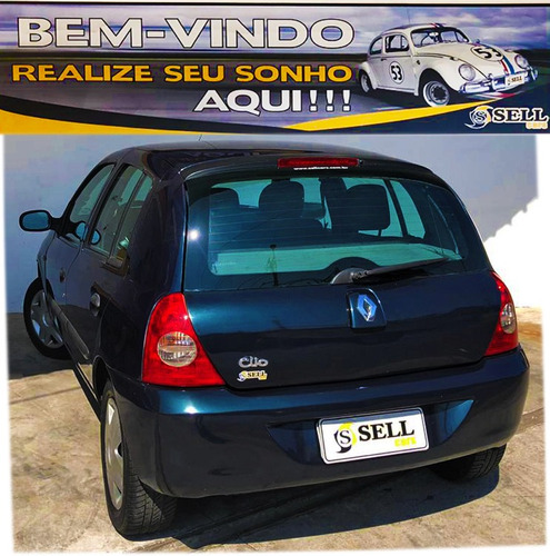 renault clio exp. hi-power 1.0 16v 4p 2008