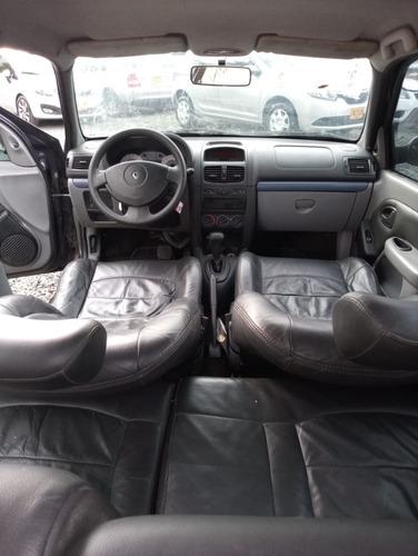 renault clio motor 1.6 2010 gris 5 puertas