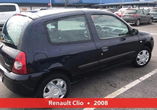 renault clio pack 2008 unico dueño