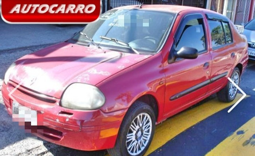 renault clio sedan 1.0 16v rn 4p 2002