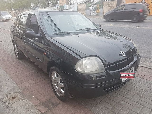 renault clio sedan 1.0 rl 16v - aceito troca 2003