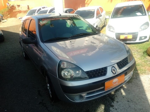 renault clio sedan 1.6 16v 4p hi flex expression