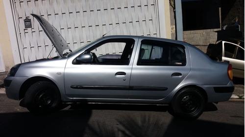 renault clio sedan 1.6 16v alizé hi-flex 4p 2006