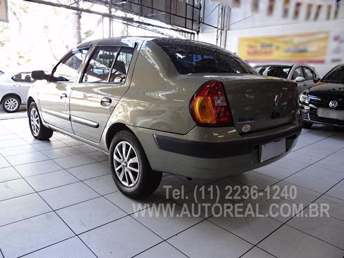 renault clio sedan completo 4p 1.0 2003 expression
