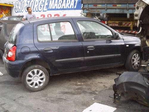 renault clio vendido em partes tudo para seu carro consulte