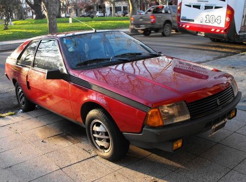 renault coupe fuego gtx 1982 original classic collection