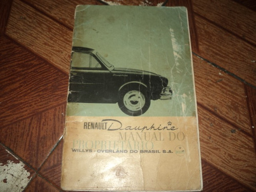 renault dauphine 1960 a 1961 manual