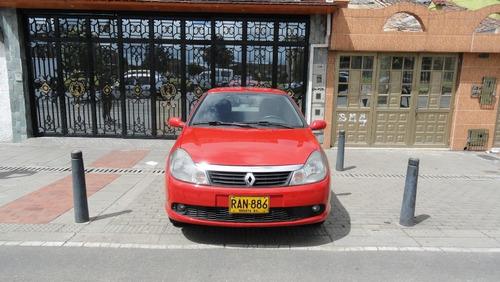 renault  de luxe ii 2010 recibo vehiculo