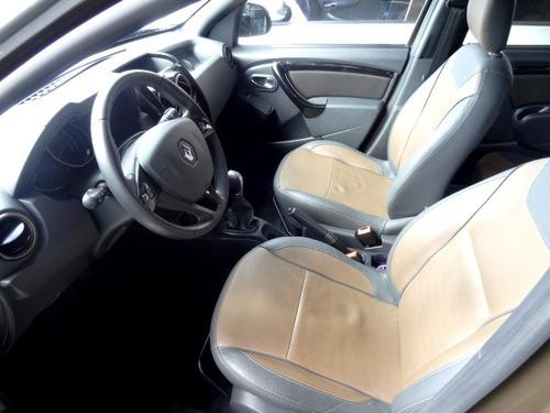renault duster 2.0 16v dynamique hi-flex aut. 5p top couro