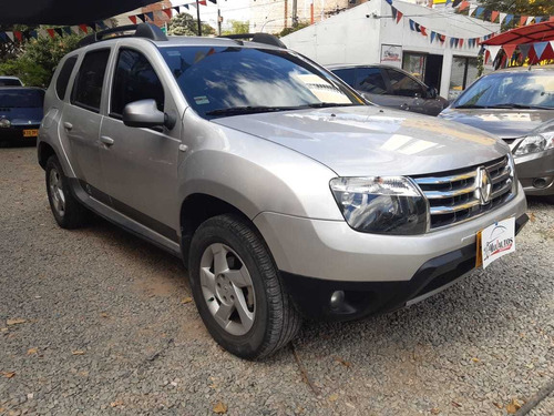 renault duster discovery,2014,51.500kms,gas y gasolina,plata