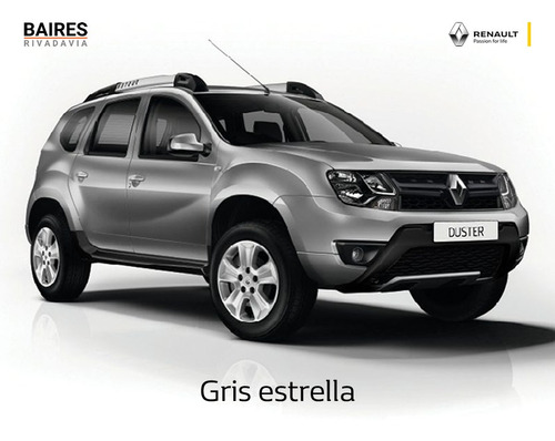 renault duster dynamique 1.6 blanco 2020 contado/financiado