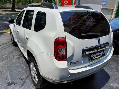 renault duster dynamique 2.0 2013 automático branco