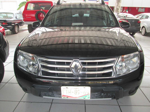 renault duster dynamique 4 cilindros, automatico 2015 negro