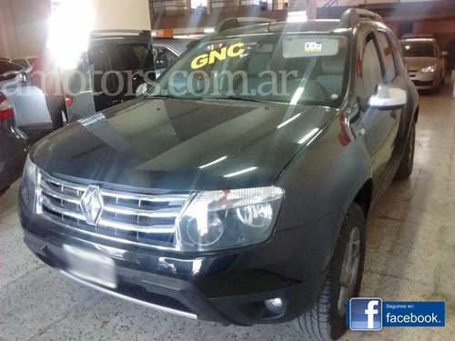 renault duster luxe 2.0 c/gnc 4x4 2012
