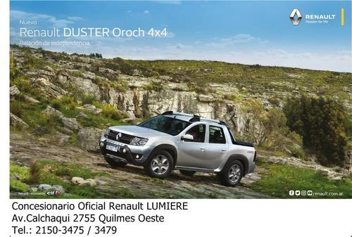 renault duster oroch 2.0 dynamique 4x4 0km 2020