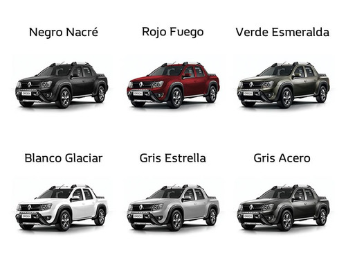 renault duster oroch outsider plus 2.0 0km 2018 rojo autos