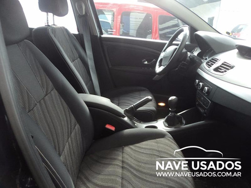 renault fluence 2.0 2012 4 puertas negro kvn