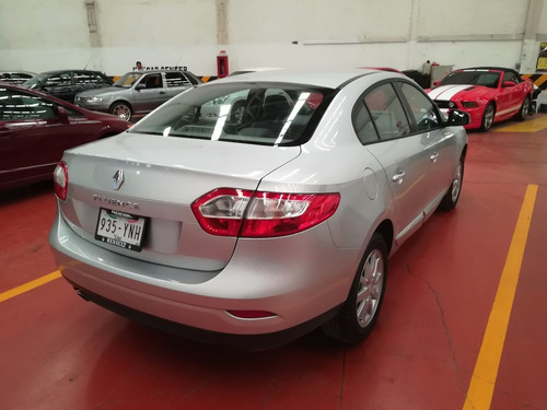 renault fluence 4p expression cvt usb, bluetooth 2012